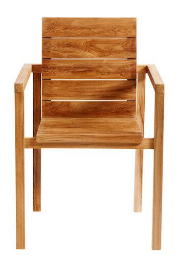 Muubs Fraser teak stol i charmerende design og god kvalitet