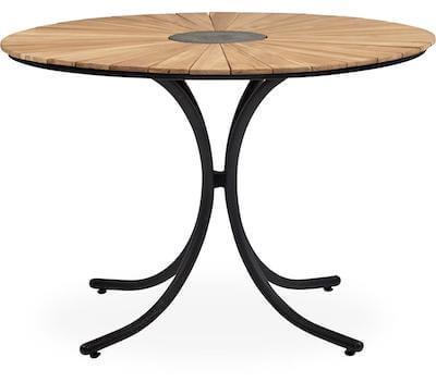 Pietra havebord med FSC teaktræ og med granitplade i midten