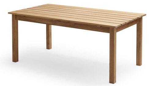 Skagerak Skagen bord i FSC certificeret teaktræ