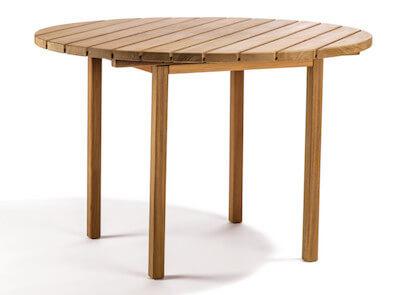 Skargaarden Djurö rundt havebord i teak Ø 110 cm Skargaarden Djurö rundt havebord i teak Ø 110 cm