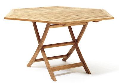 Skargaarden Viken 6-kantet bord i indbydende design