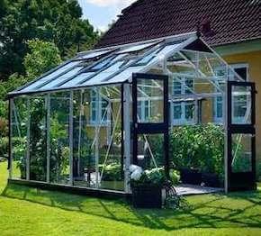 Juliana Premium drivhus 10,9 m2 med 3 mm hærdet glas