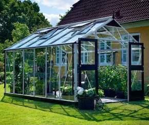 Juliana Premium stort 13 m2 drivhus