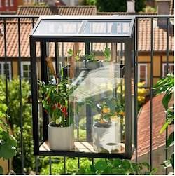 Juliana Urban Balcony mini drivhus med 4 mm hærdet glas