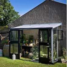 Juliana Veranda luksus vægdrivhus 4,4 m2 + 3 mm hærdet glas